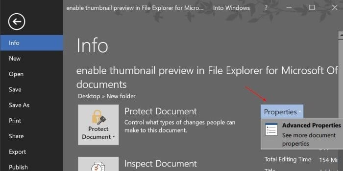 thumbnail preview for word excel powerpoint file explorer (3)