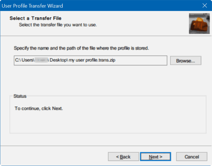 How To Transfer User Profiles In Windows 10