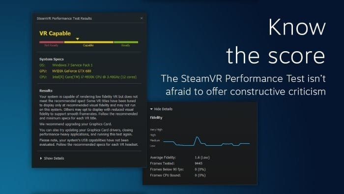 Check If Your PC Is VR Ready Using These Free Tools
