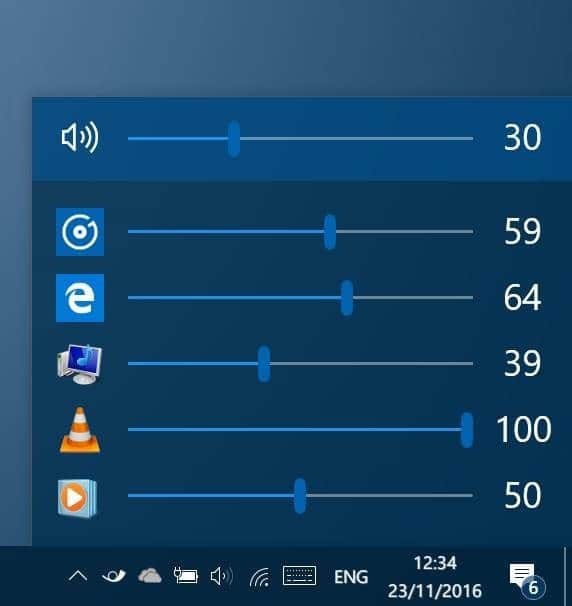 EarTrumpet adjust volume levels for apps in Windows 10 pic1