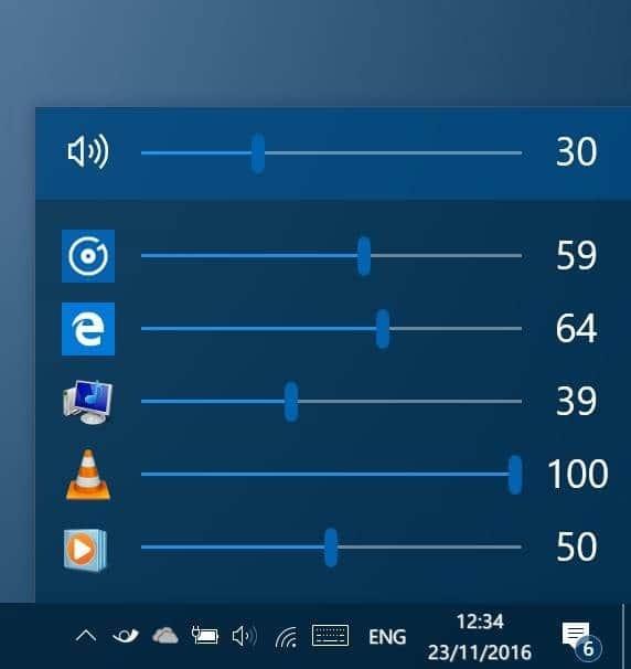 EarTrumpet adjust volume levels for apps in Windows 10 pic1