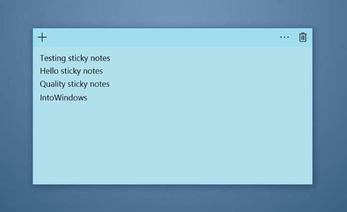How To Backup And Restore Sticky Notes In Windows 10