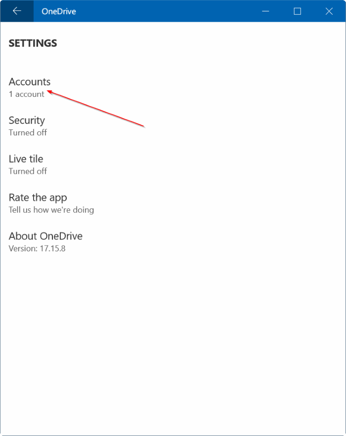check onedrive storage space usage in Windows 10 pic4