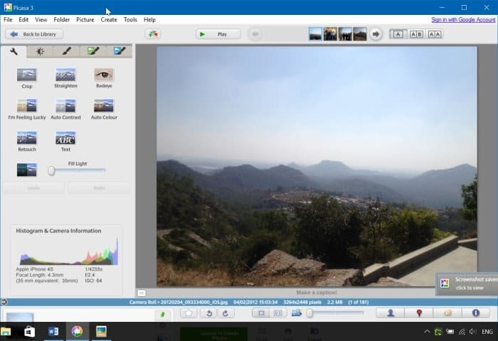 Download Google Picasa For Windows 10