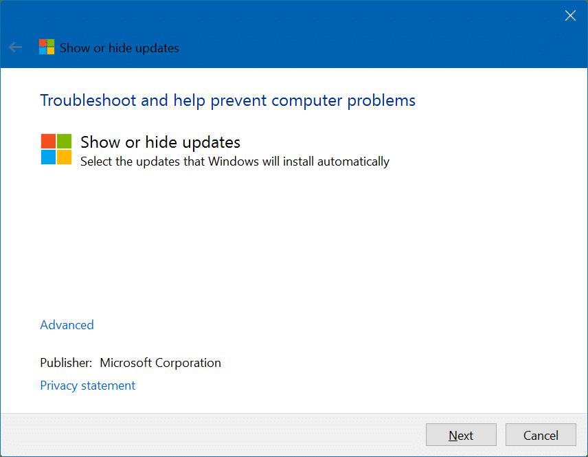 How To Hide Windows Updates In Windows 10