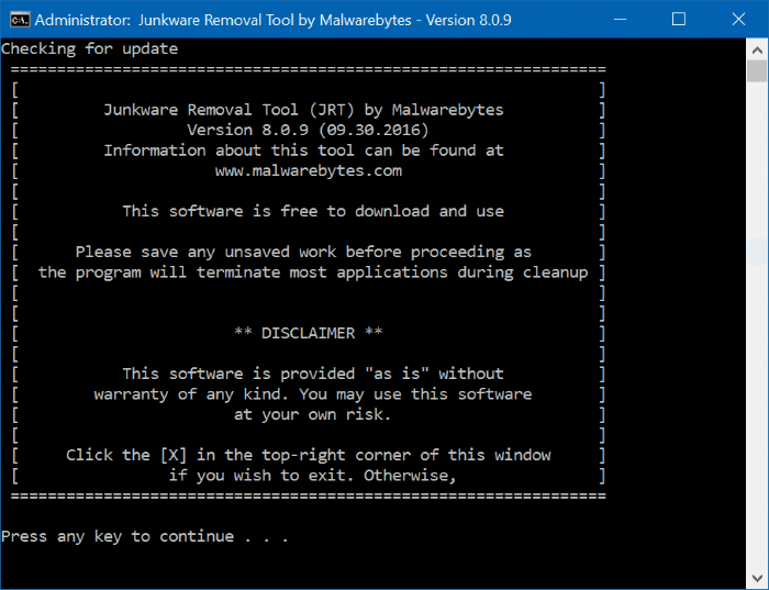malwarebytes for pc windows 10