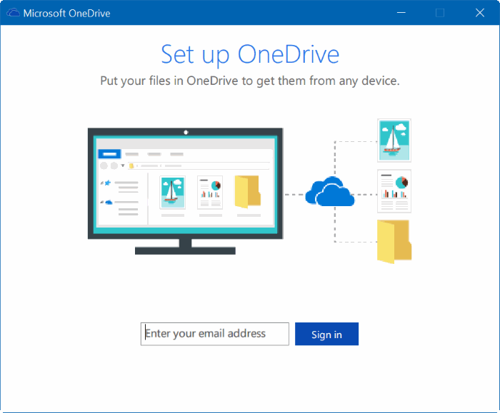 move onedrive folder in Windows 10 step11