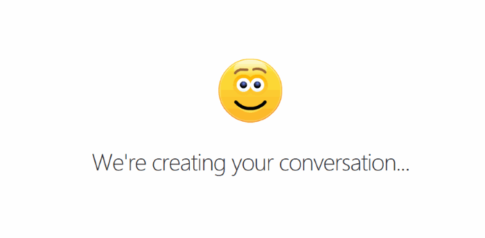 use skype without microsoft account - creating conversation