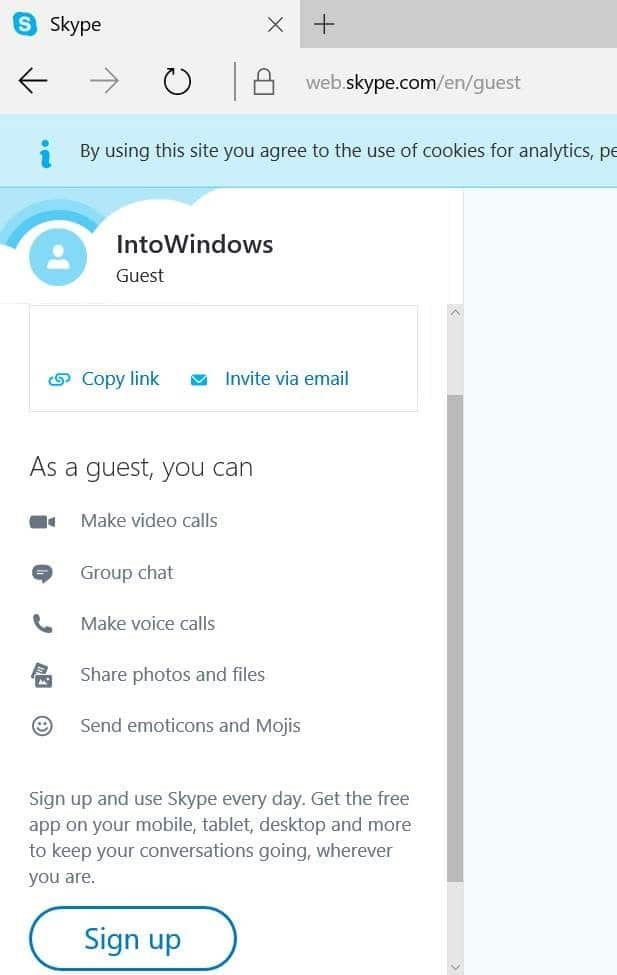 use skype without microsoft account pic7