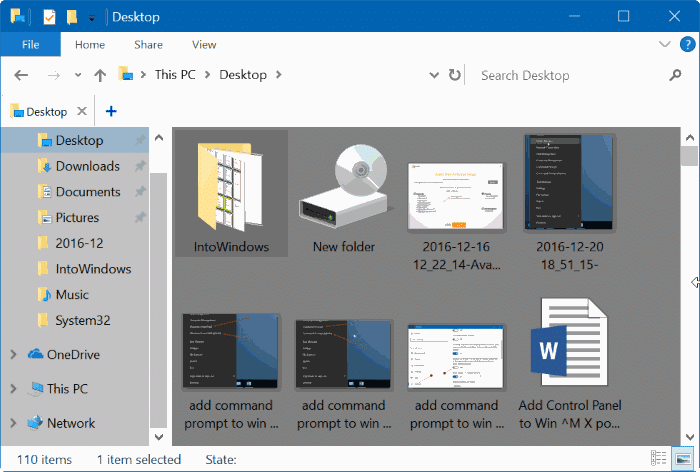 change folder background color Windows 10