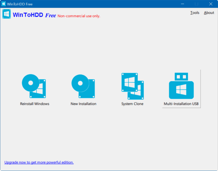 create multi install Windows usb step1