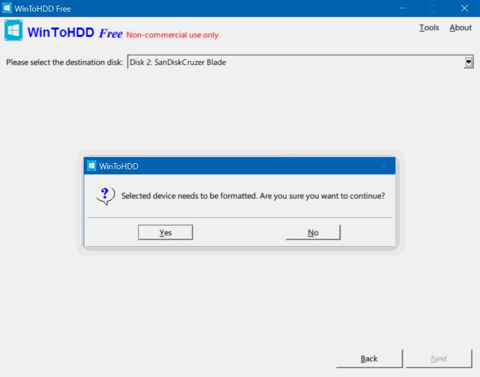 create multi install Windows usb step2