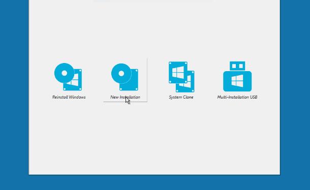 create multi install Windows usb step9