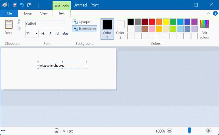 enable classic paint program in Windows 10 Creators Update