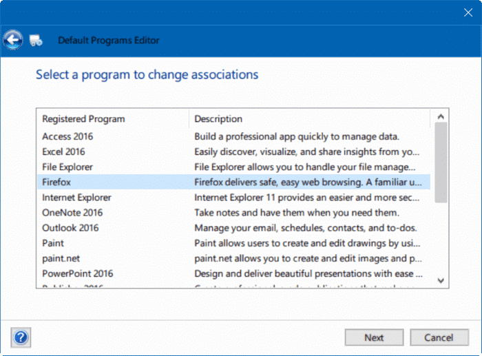 fix to unable to change default web browser or apps Windows 10 pic6