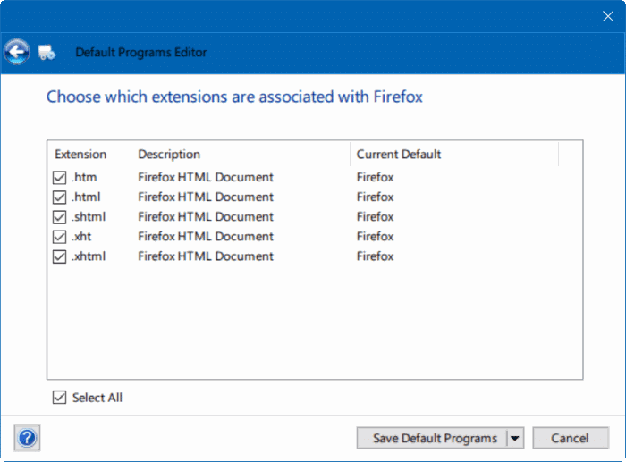 fix to unable to change default web browser or apps Windows 10 pic7