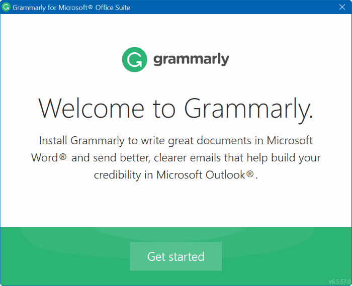 grammarly advanced grammer checker for Word pic02