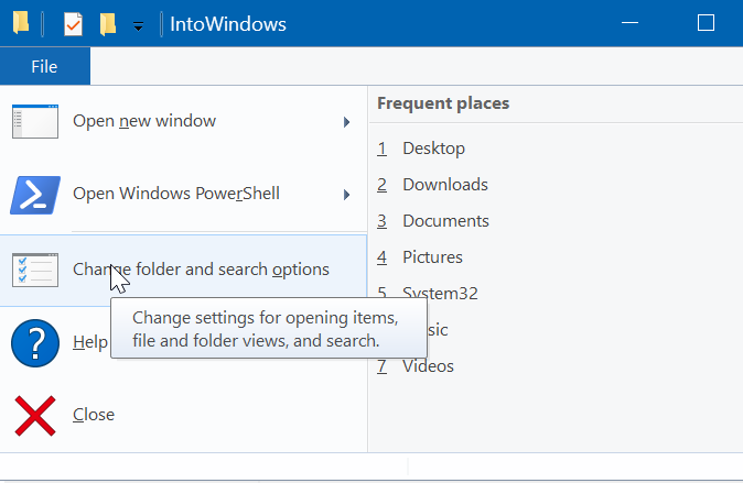 hide file and folders in Windows 10 pic4
