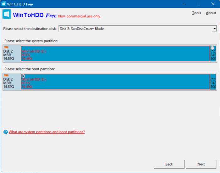 multi install Windows usb step5