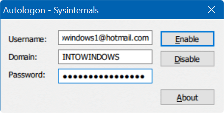 skip lock and login screen in Windows 10 pic05