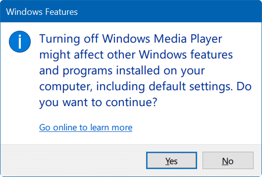 How To Turn Windows 10 Features On Or Off