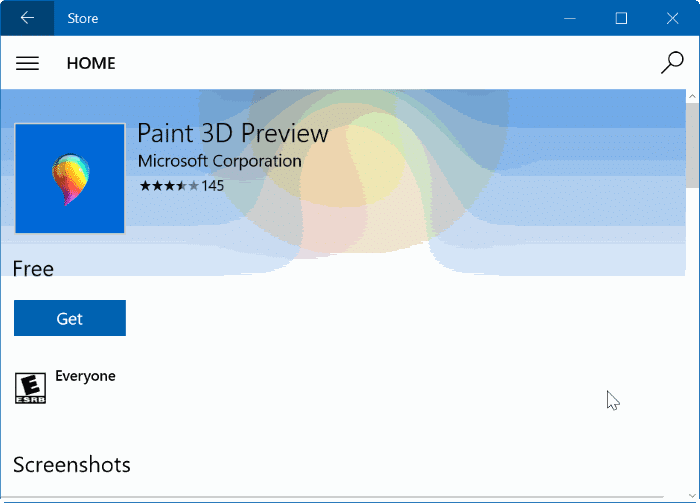 Uninstall or reinstall paint 3d app in windows 10 Paint software free download
