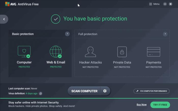 Download AVG Antivirus Free 2017 Now
