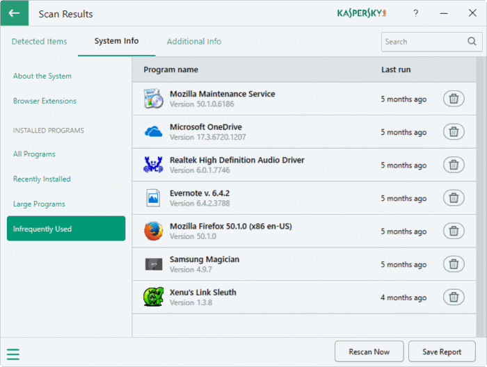 Kaspersky PC Cleaner for Windows 10 pic9