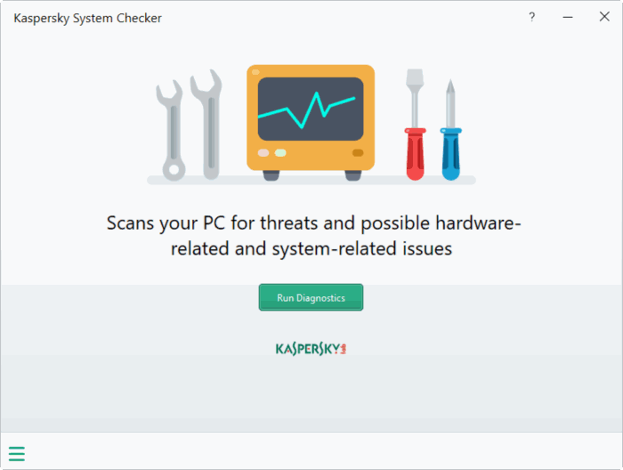 Download Kaspersky System Checker Free For Windows 10