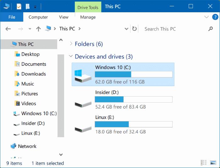 access windowsapps folder in Windows 10 pic1