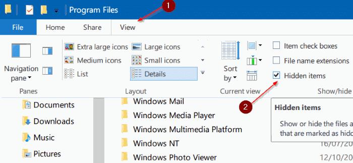 access windowsapps folder in Windows 10 pic4