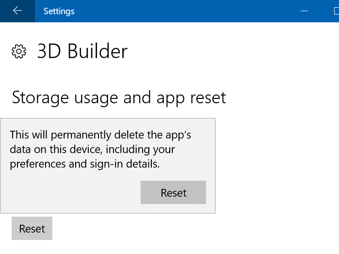 repair Windows 10 apps pic3