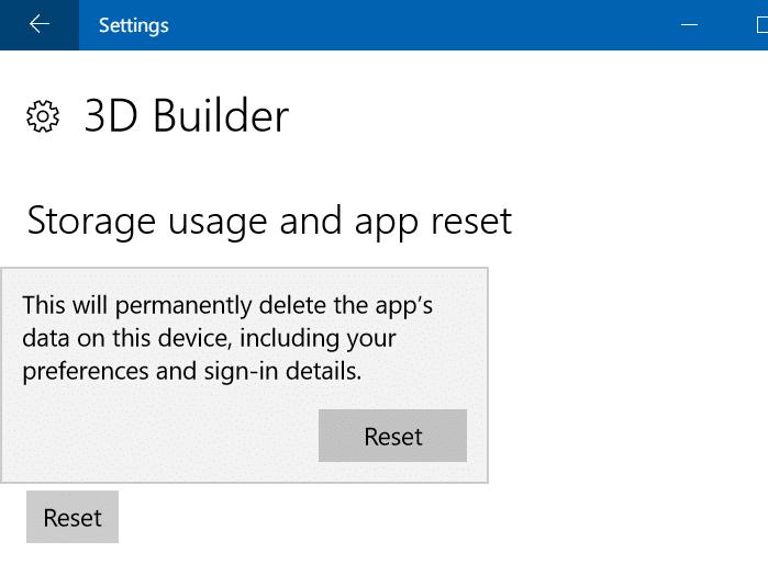 repair Windows 10 apps pic3