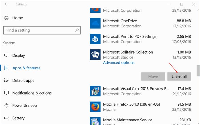 repair Windows 10 apps pic4