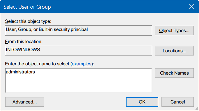 take ownership of Registry in Windows 10 pic5