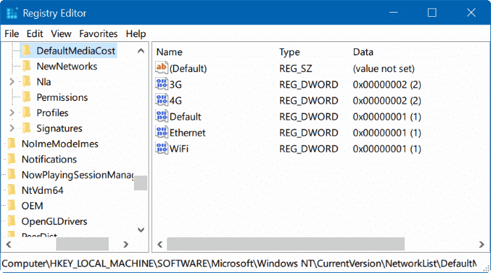 take ownership of Registry in Windows 10