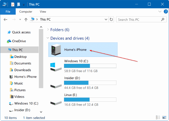 3 ways to transfer iphone photos to windows 10 pc for Windows 10 pc