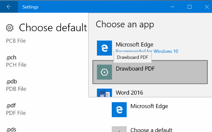 Stop edge from opening PDF files (7)