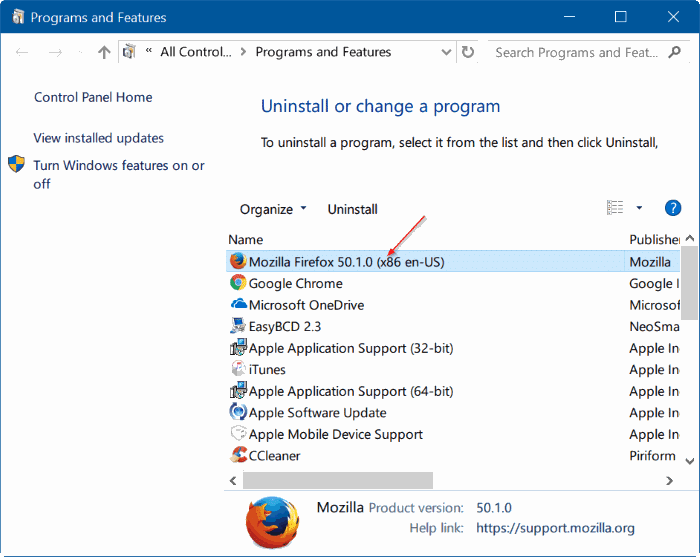 5 Ways To Check If You Are Running 32 Or 64-bit Firefox On Windows