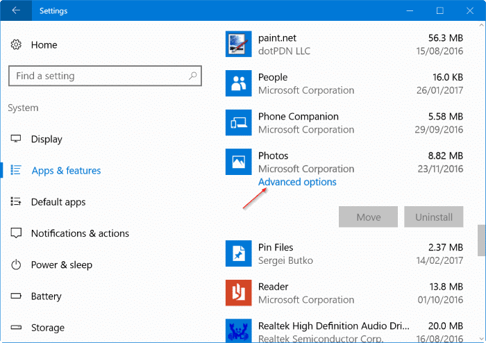 photos app opening slowly in Windows 10 pic1