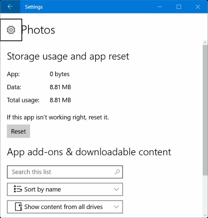 photos app opening slowly