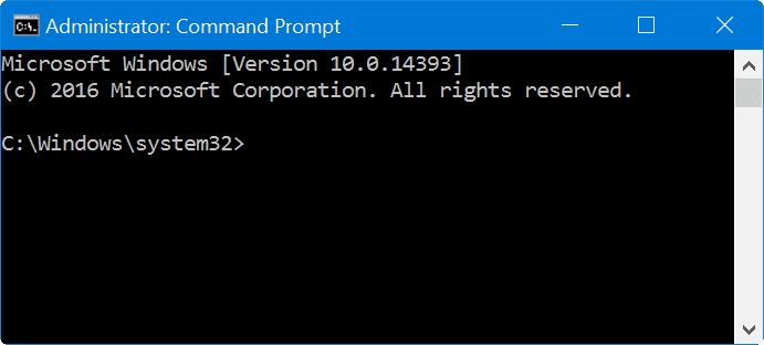 how to run command prompt as administrator in windows 10