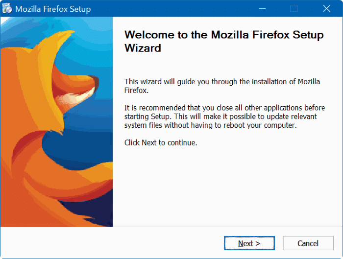 upgrade firefox 32 to 64 bit