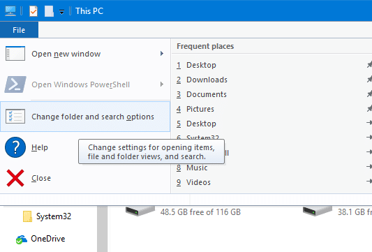 Disable ads in File Explorer in Windows 10 pic2