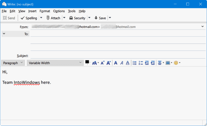 Mozilla Thunderbird for Windows 10 pic2