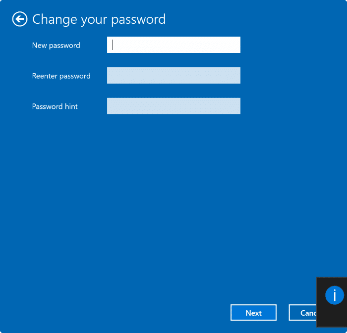 Remove user account password in Windows 10 pic3
