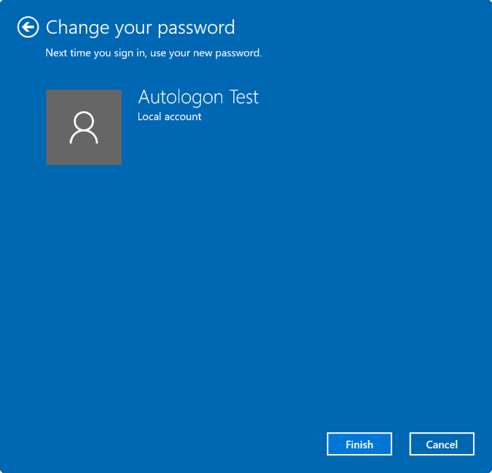 Remove user account password in Windows 10 pic4