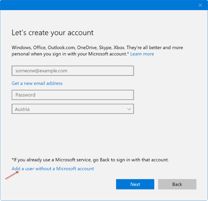 create a new administrator account in Windows 10 pic3
