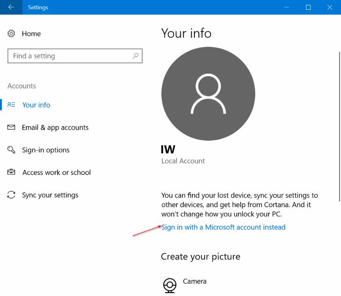 password protect Windows 10 PC pic4