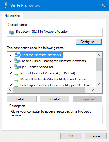 disable wifi when ethernet cable is connected in Windows 10 pic5